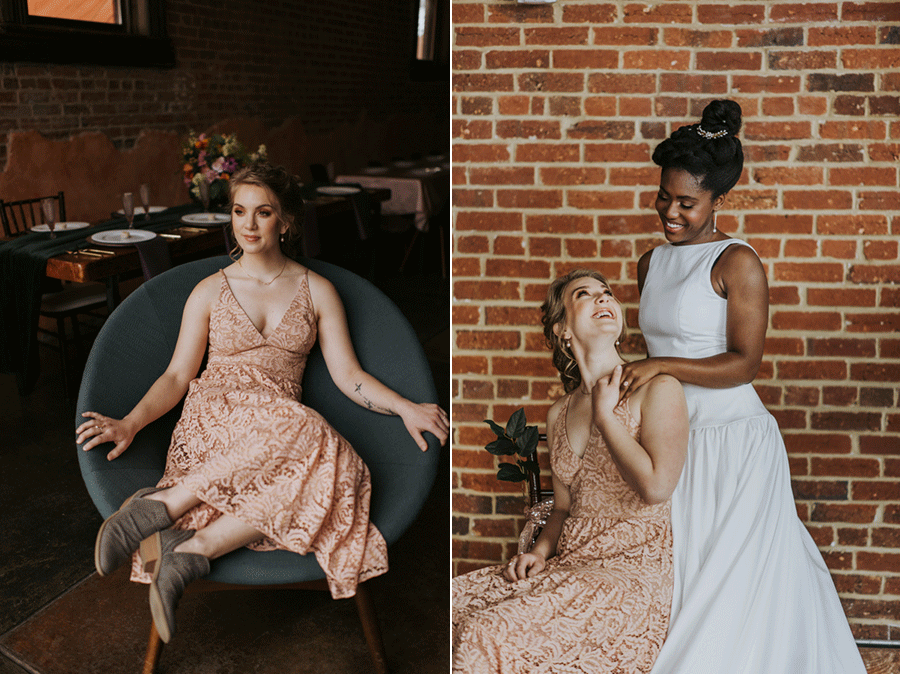 vegan-vintage-glam-bridesmaid-dress