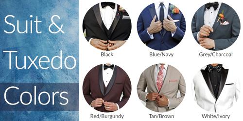 Suit & Tuxedo Colors