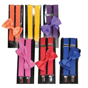 Suspenders & Bow Ties