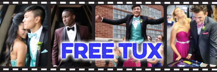 Get Your FREE Prom Tux