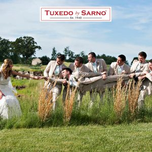 Wedding Photograph - Tuxedo by Sarno