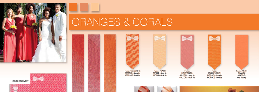 Explore All Your Orange and Coral Options