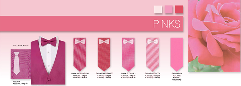 Explore All Your Pink Options