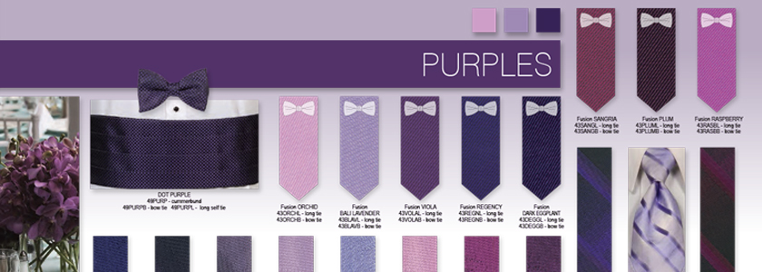 Explore All Your Purple Options