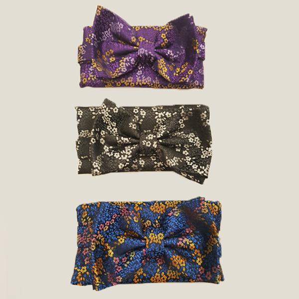 Retro Bow Tie & Pocket Square Sets