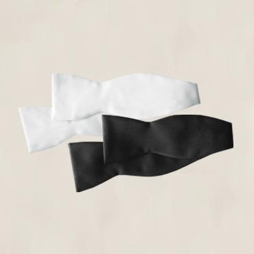 TB201 (Black Silk), TB271 (White Silk), TB101 (Black Satin), TB171 (White Satin)