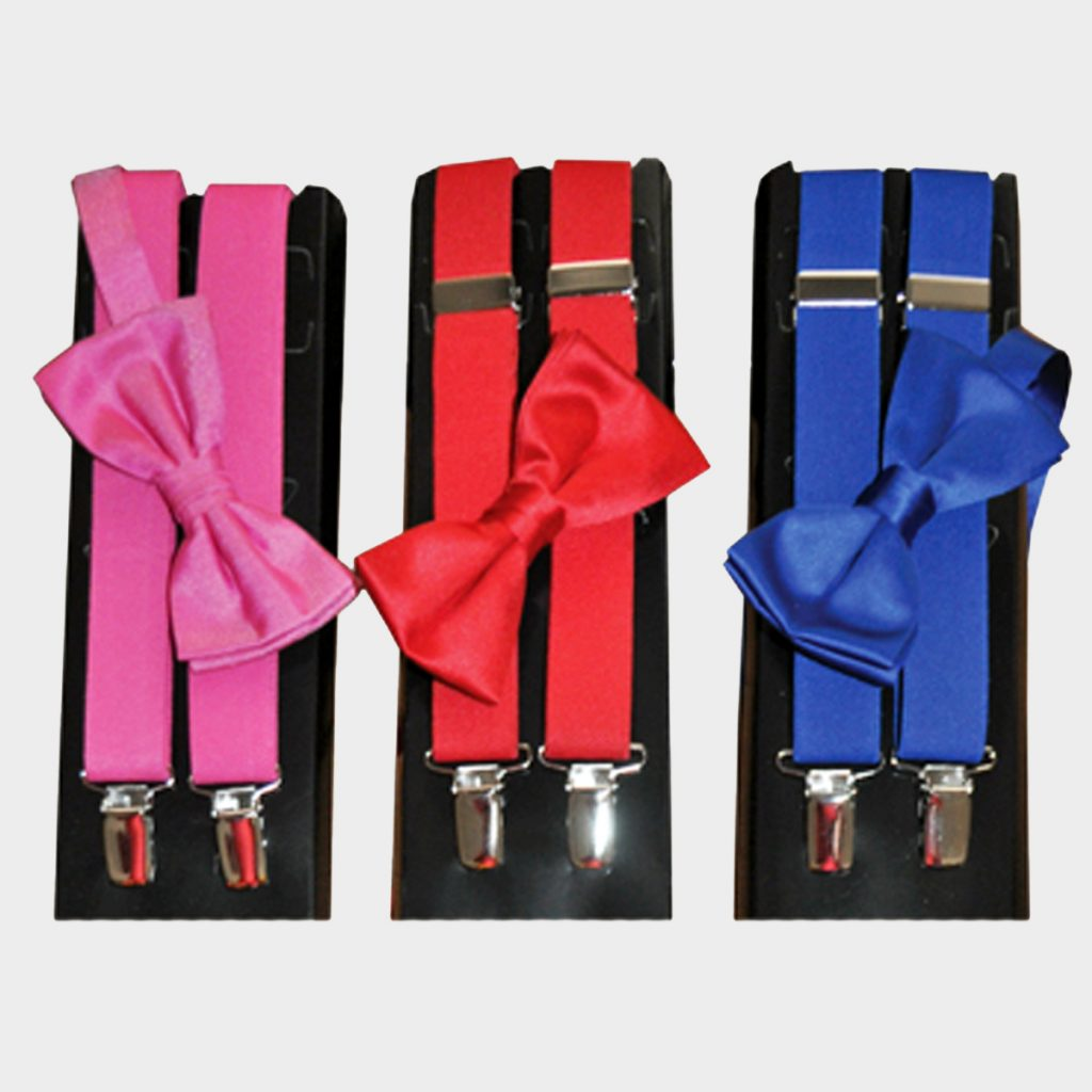 Suspender & Bow Tie Sets
