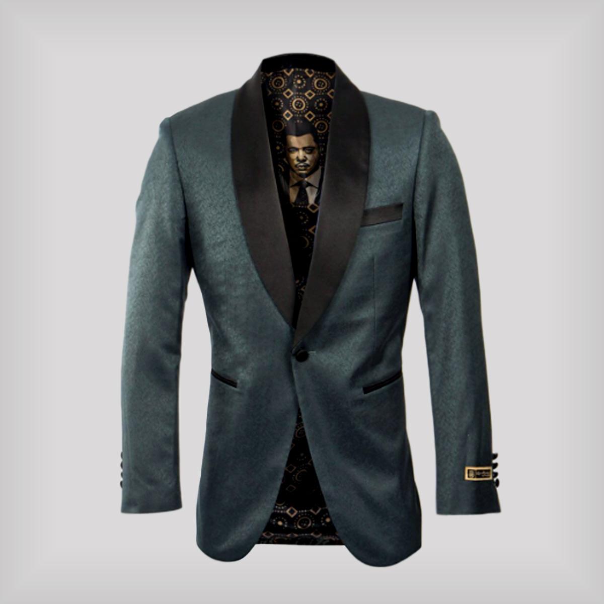 green purchase tuxedo jacket