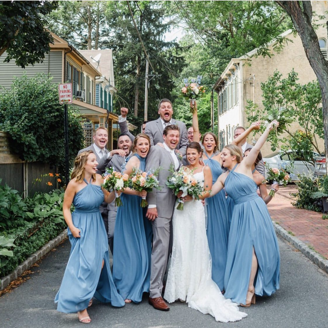 blue-and-gray-wedding-party
