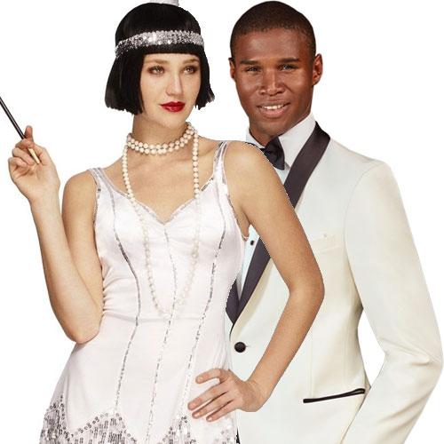 Ivory Great Gatsby Tuxedo Jacket