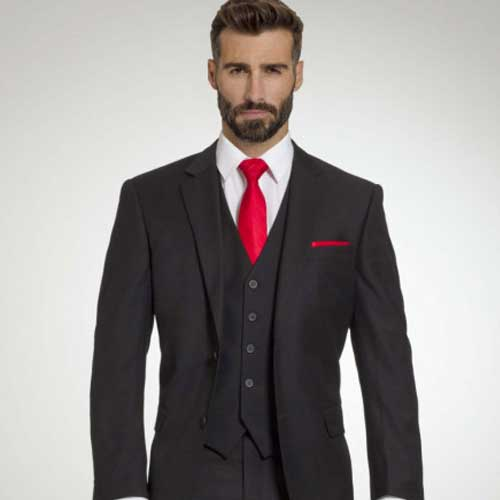 Retail Black Suit