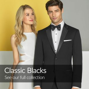 Black Wedding Suits Tuxedos