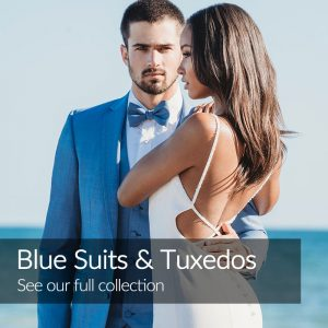 Blue Wedding Suits Tuxedos