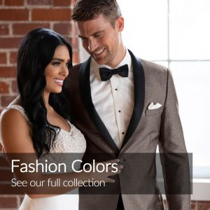 Fashion Color Suits and Tuxedos