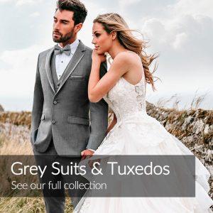 Grey Wedding Suits Tuxedos