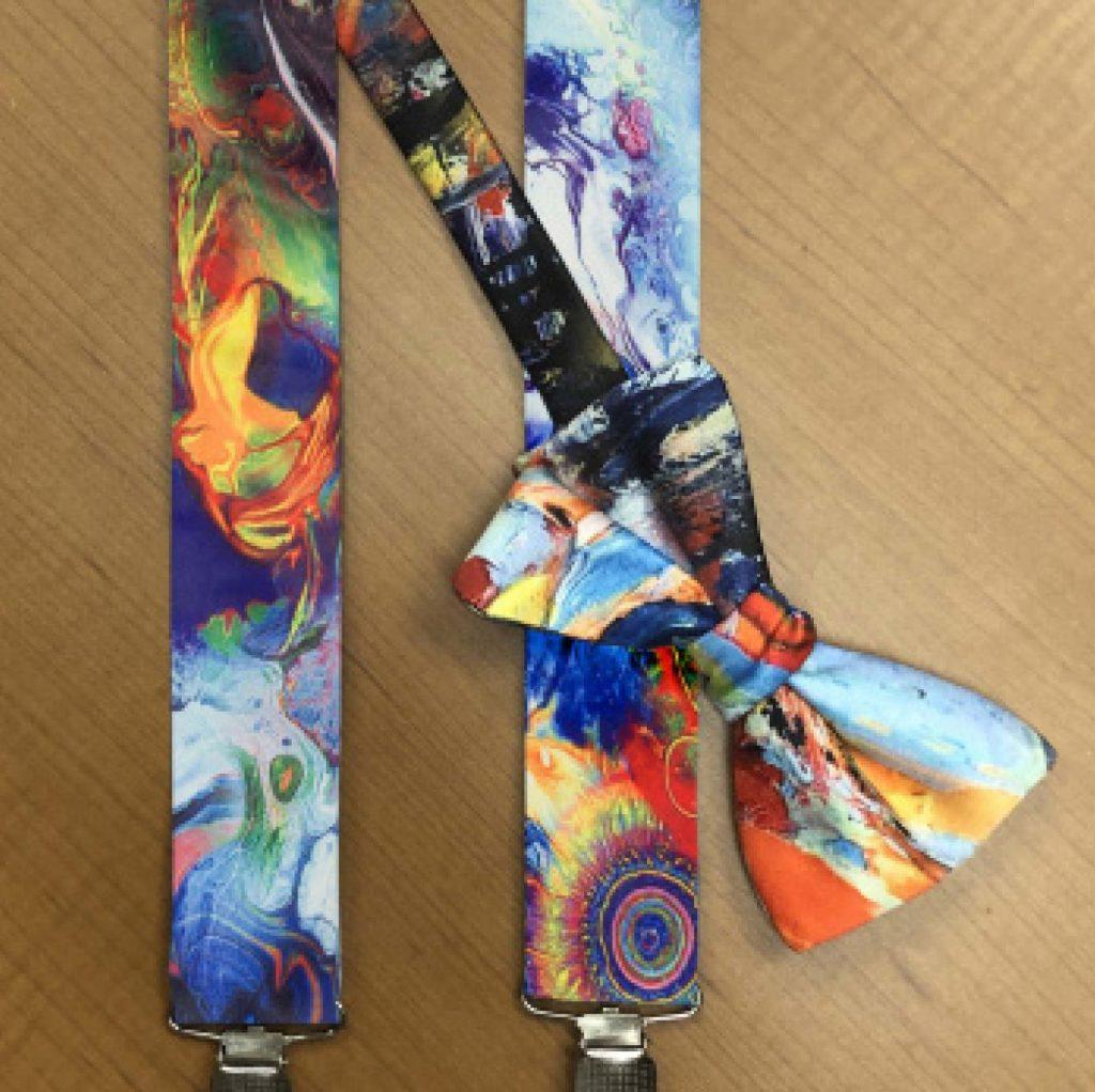 Hendrix Suspenders & Bow Tie Set