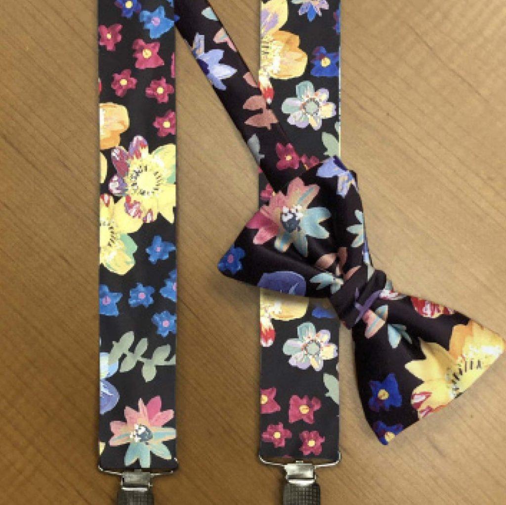Marley Suspenders & Bow Tie Set