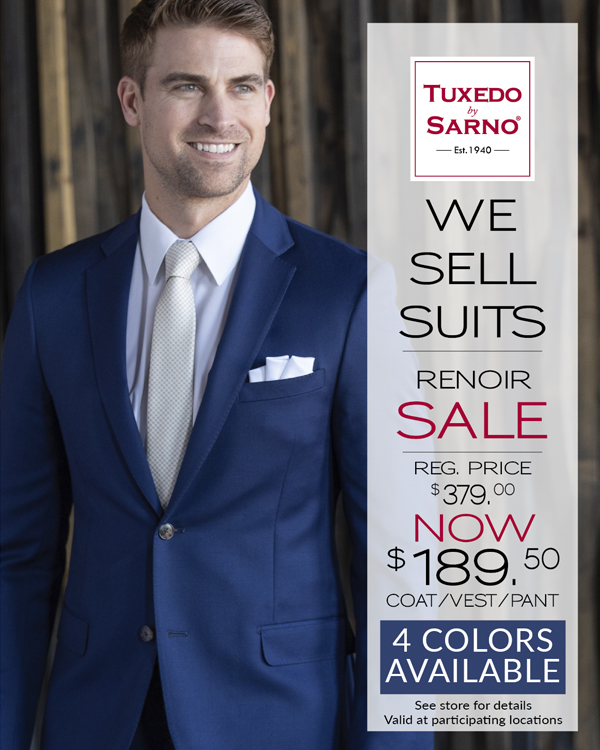 Men's Suits Sale