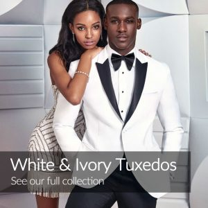 White Ivory Wedding Tuxedos