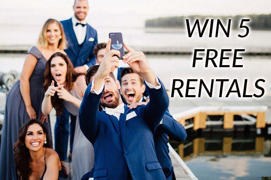 Win 5 Wedding Rentals